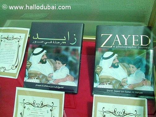 Buch über Scheich Zayed
