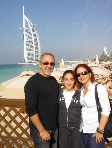 Gloria Estefan mit Ehemann Emilio Estefan und Tochter Emily