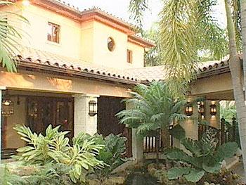 Das Haus der Estefan-Familie.